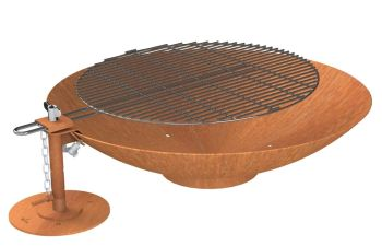 Firebowl 800mm With Grill