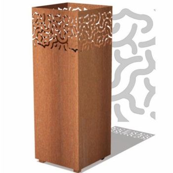 JARI Outdoor Garden Burner Corten