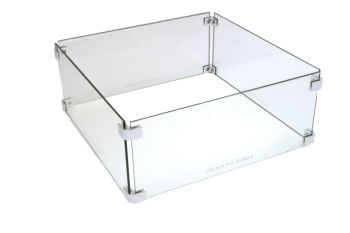BRANN Fire Table Pit Glass Surround