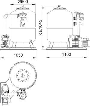 D600 Sand Filter