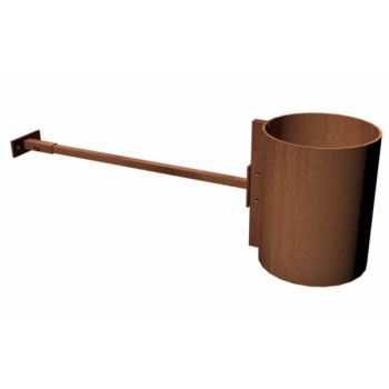 Corten Steel Burner Flue Accessories