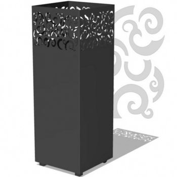 TYR Outdoor Garden Burner Black