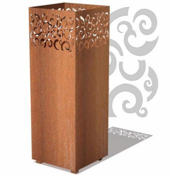 TYR Outdoor Garden Burner Corten