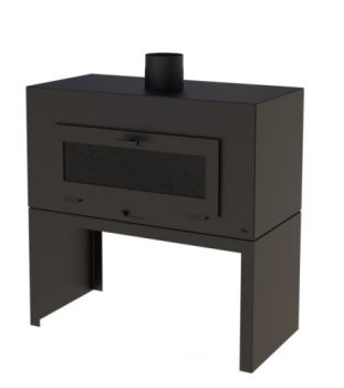 ENOK Burner Door Black
