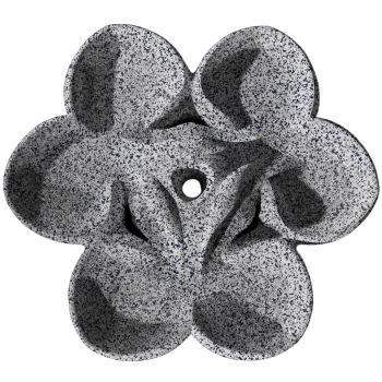 Cornelia Radial Water Sculpture - Grey