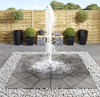 Pondless Fountain Set 4 - Foaming Jet
