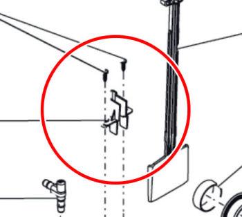 Guiding gate valve