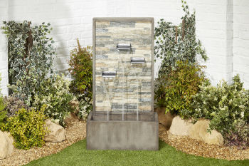 Mottled Trio Water Feature