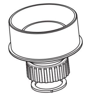 DN100 x 2 inch BSPF Adaptor