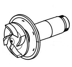 Spare rotor cpl. AquaMax Eco 8000