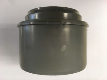 DN100 to DN75 Reducer - Grey