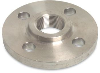 "PN16 DN25 x 1"" BSP Stainless Steel Threaded Flange"