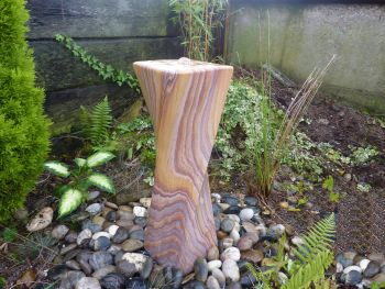 Twisted Fountain in Rainbow Sandstone 0.65m