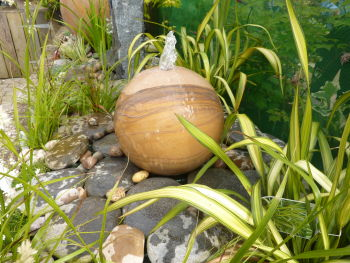 Sphere Feature in Rainbow Sandstone