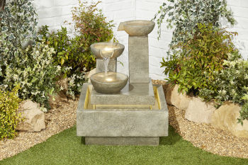 Pouring Bowls Water Feature
