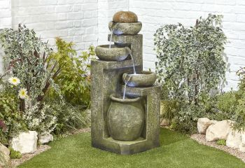 Spanish Bowls Water Feature