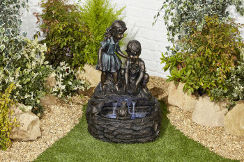 Curious Children Water Feature