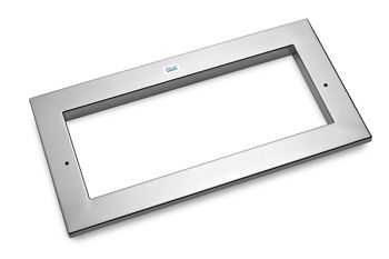 Stainless Steel Faceplate for ProfiSkim Wall Extensions
