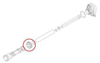 Quartz Lock Nut for Bitron 18/24/36/55C
