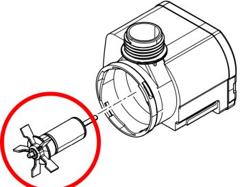 Rotor for Aquarius Universal 2000 Pump