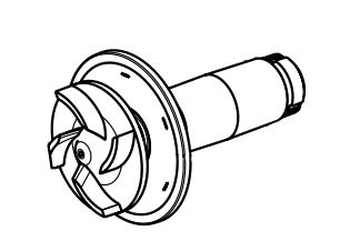 Impeller for Aquamax Eco R 6000/8000