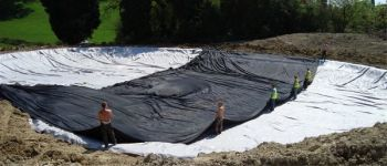 Lake Liner Protective Underlay