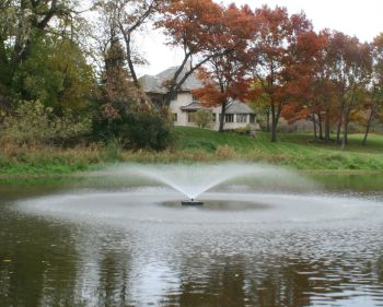 6-in-1 Floating Aerator Fountain
