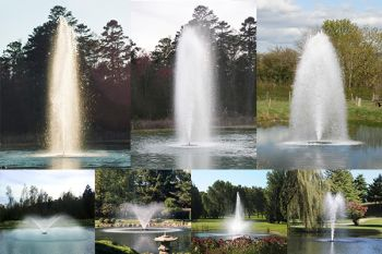 7-in-1 Floating Aerating Fountain