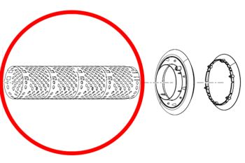 Spare Mesh Tube for FiltoClear 16000