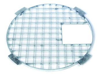 60cm Galv. Steel Grid & Hatch