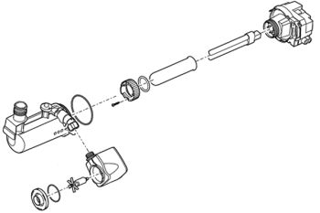 Spare Pump/UV Assembly for Filtral UVC 6000 Premium