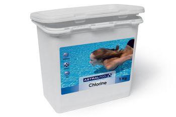 Stabilized Chlorine Granules - 1KG