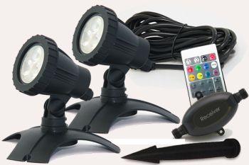 Hydra L RGB LED Spotlight Set 2