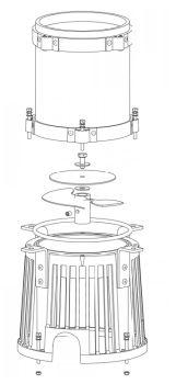 Gemini Chamber, C3, 1hp, 50Hz