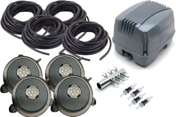 AP3600 LED Pond Air Pump Kit