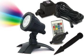 PondMax RGB LED Spotlight Set 1