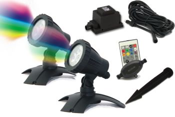 Hydra L RGB LED Spotlight Set 2