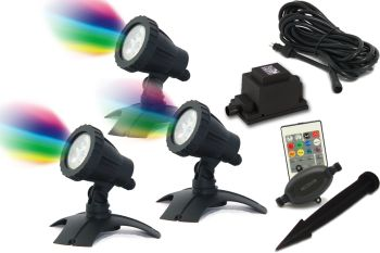 Hydra L RGB LED Spotlight Set 3
