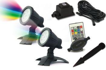 Hydra XL RGB LED Spotlight Set 2