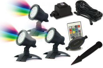 Hydra XL RGB LED Spotlight Set 3