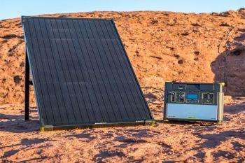 YETI 150 + Boulder 100 Solar Generator Set