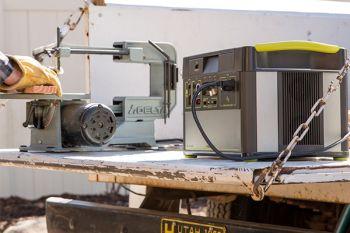 YETI 1400 + Boulder 200 Solar Generator Set