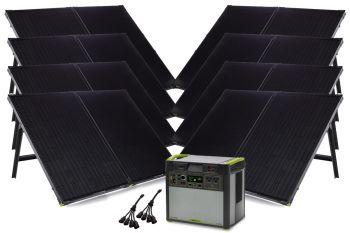 YETI 3000 + 8 x Boulder 200 Solar Generator Set