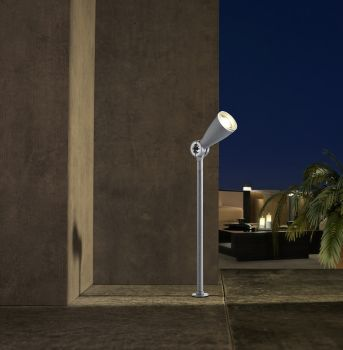 Flo (Silver-Grey) LED Spot Light - 4w