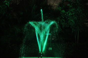 2 Tier Rotating Fountain Nozzle - 17 Water Jets