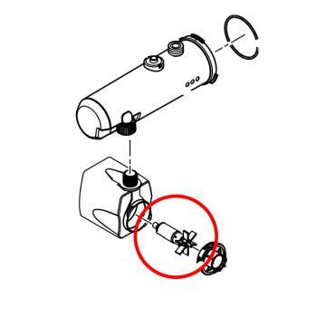 Impeller for Filtral 5/6/9000 UVC