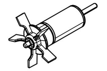 Impeller for Aquarius Universal 1000