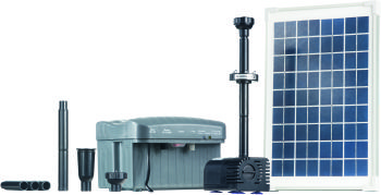 Solar Pump Set 750 Incl. LED Light