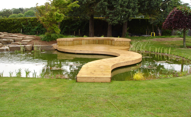 Build and installation services pond and lake water for Garden pond builders essex