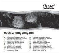 OxyMax 100 - 400 Instructon Manual